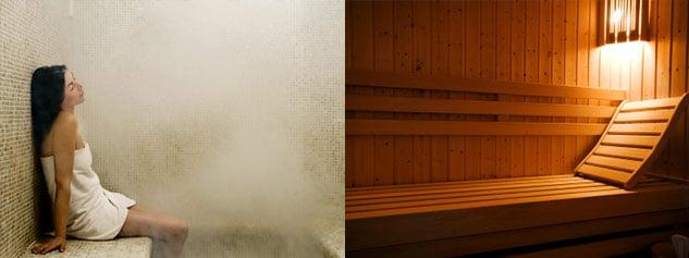 un sauna et un hammam traditionnel