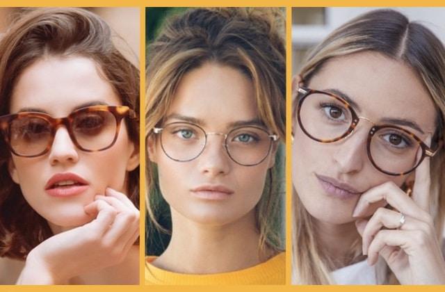 Les montures de lunettes